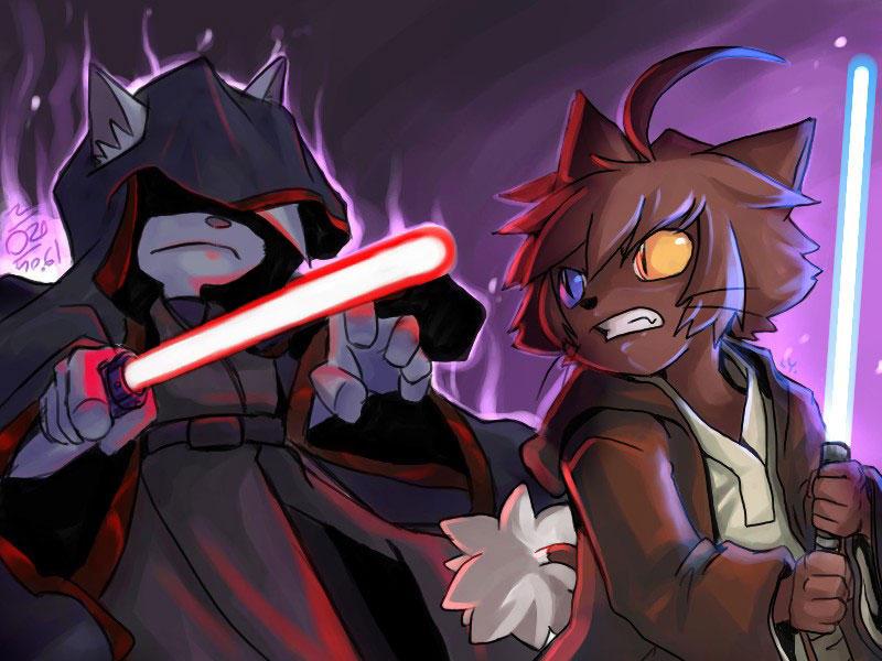 Jedi VS Sith by aun61