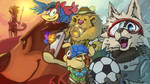Worldcup Mascots