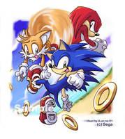 Sonic Team - South Island by aun61