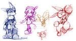 Klonoa's Friends.. sort of