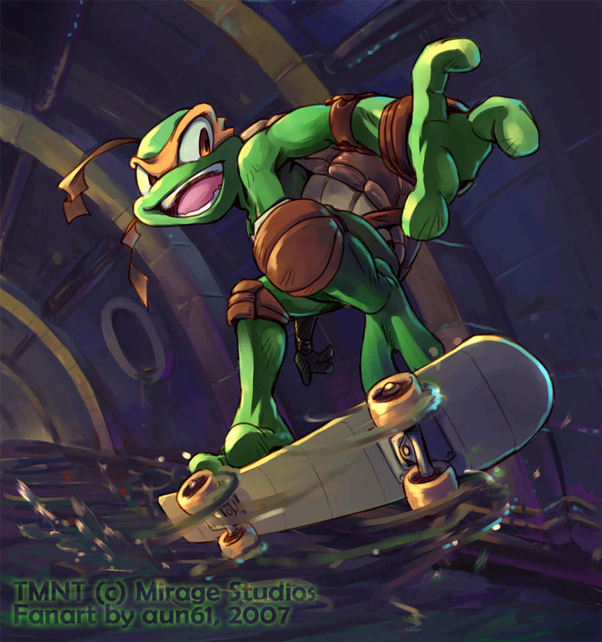 Sewer Skateboarding by aun61