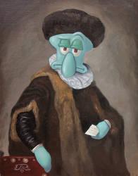 Portrait of Mr. Tentacles