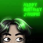 Happy Birthday J-Hope! by Ocean-Blu-Tomboy