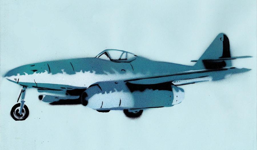 Messerschmitt ME 262 Schwalbe by Ali-Radicali