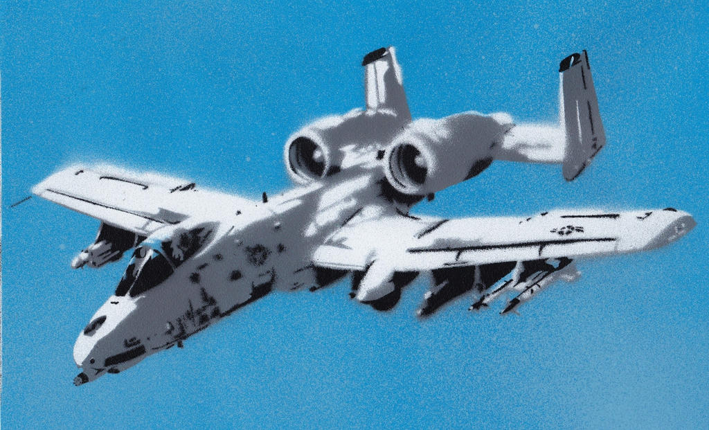 Fairchild Republic A-10 Thunderbolt II by Ali-Radicali