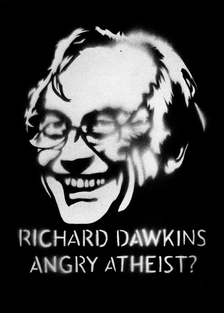 Angry Atheists: Richard Dawkins by Ali-Radicali