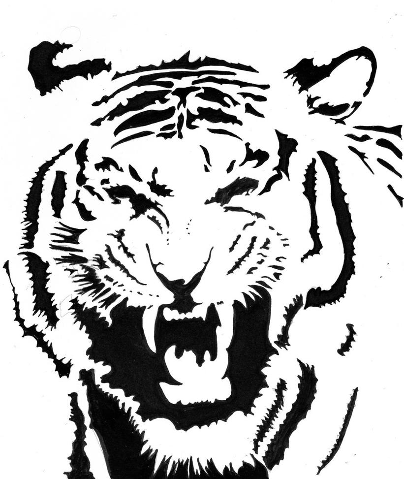 Tiger Tribal by Ali-Radicali