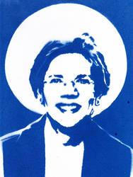 Elizabeth Warren - True Blue by Ali-Radicali