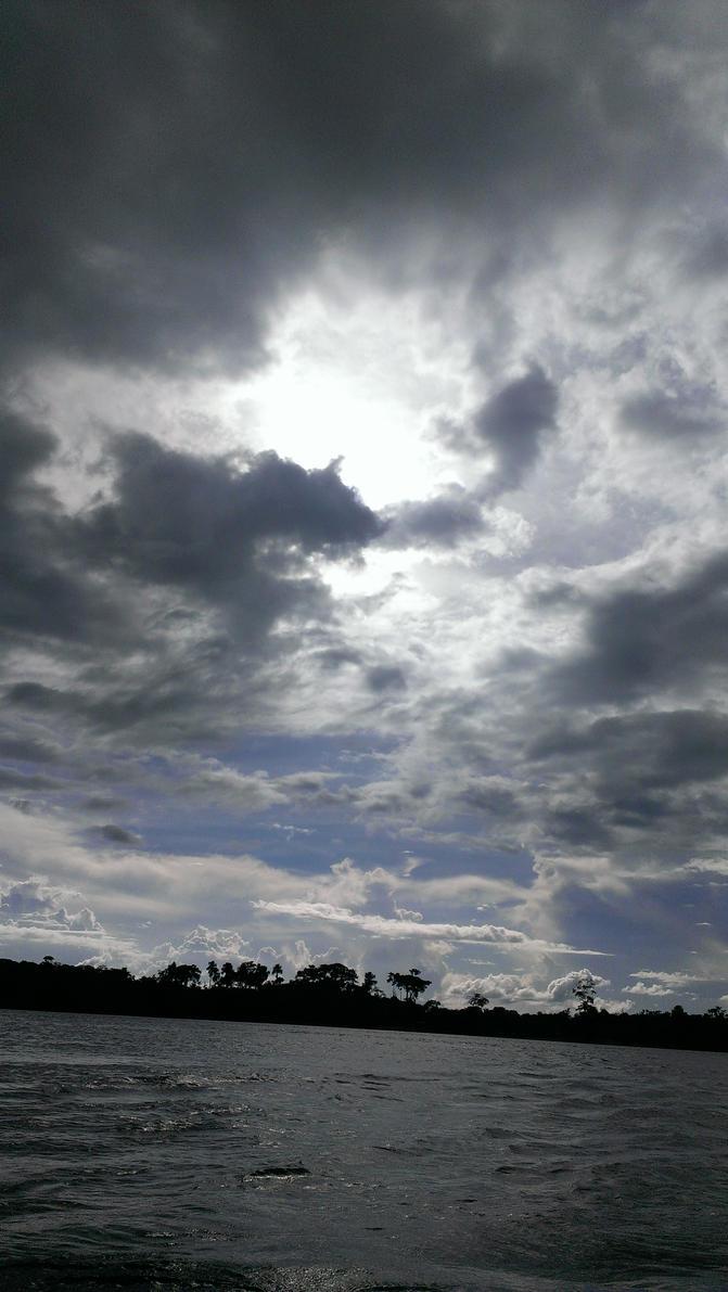 Otherworldly Clouds by Ali-Radicali