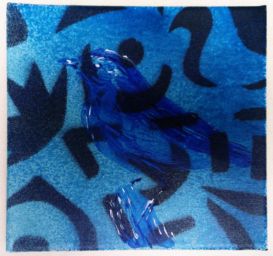 Blue Bird by Ali-Radicali