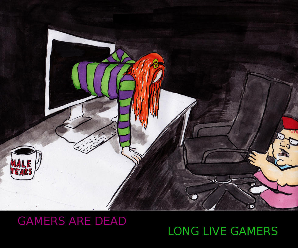 Gamers are dead by Ali-Radicali