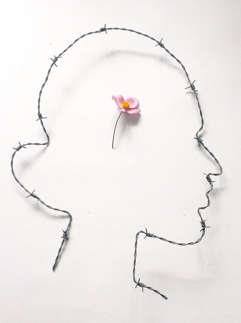 Self-portrait by Ali-Radicali