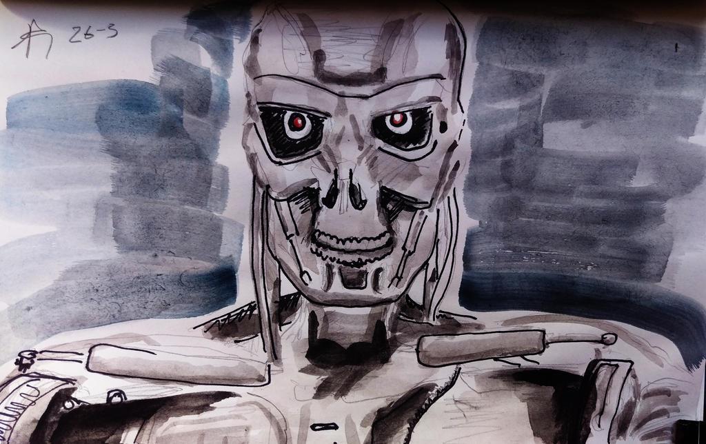 Terminator by Ali-Radicali