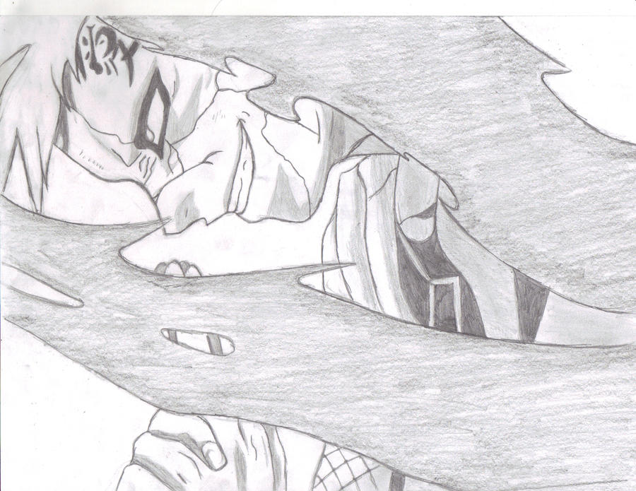 Gaara the sand demon by jakubpoint on deviantART