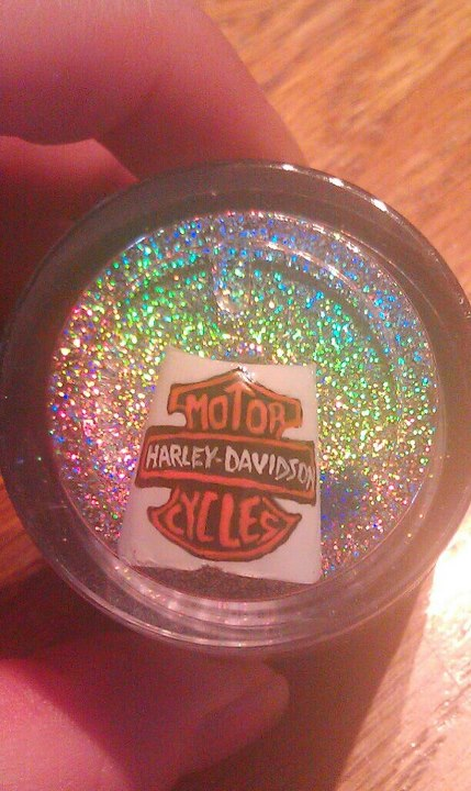 Harley Davidson Nail Art By Dignifieddoll On Deviantart