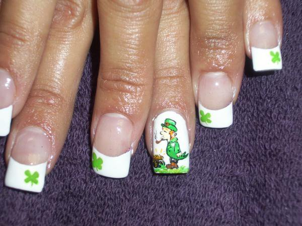 Leprechaun - Nail Art by DignifiedDoll