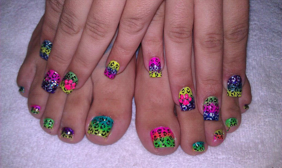 Rainbow Acrylic Nail Ideas The Best Inspiration For Design And