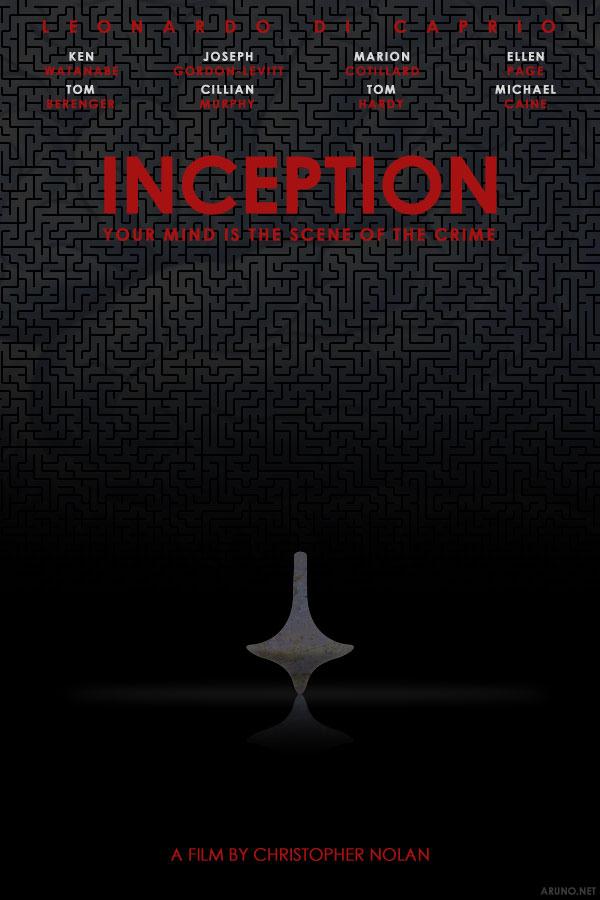 Inception alternative poster by aruno on DeviantArt