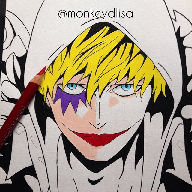 WIP - Corazon from One Piece by monkeydlisa
