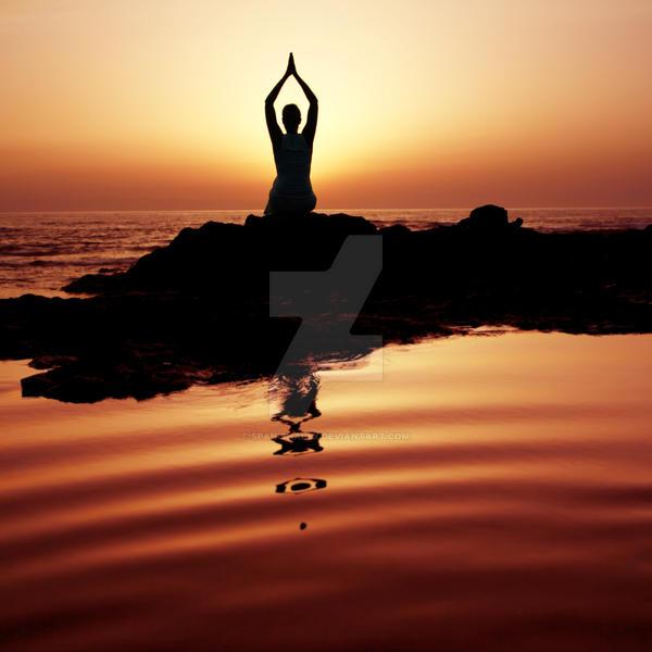 Sunset Meditation by Spanishalex