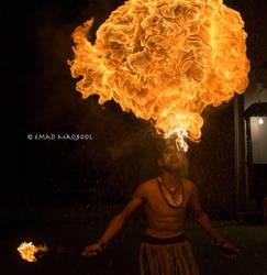 Firebreather by EmadTaj