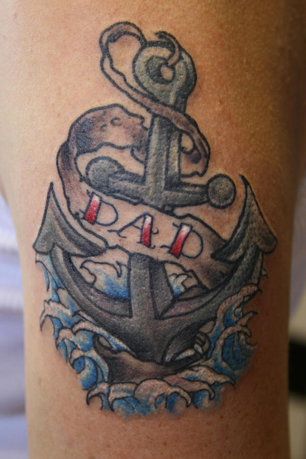 Religious Anchor Tattoo Pics Designs