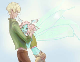 Lutik and Soplya by Vitalka-san