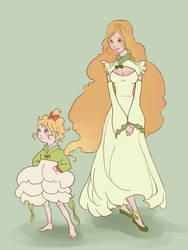 Melissa and Margo by Vitalka-san