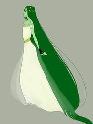 Vika emerald by Vitalka-san