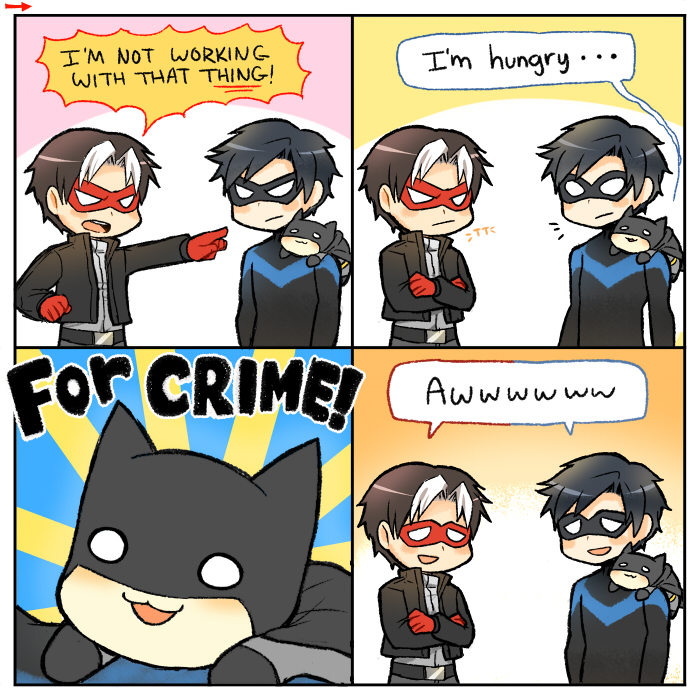 Hungry for Crime by KataChan