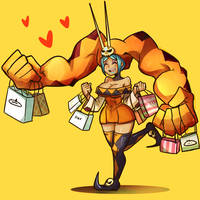 Skullgirls - ShoppingSpree by kata-009
