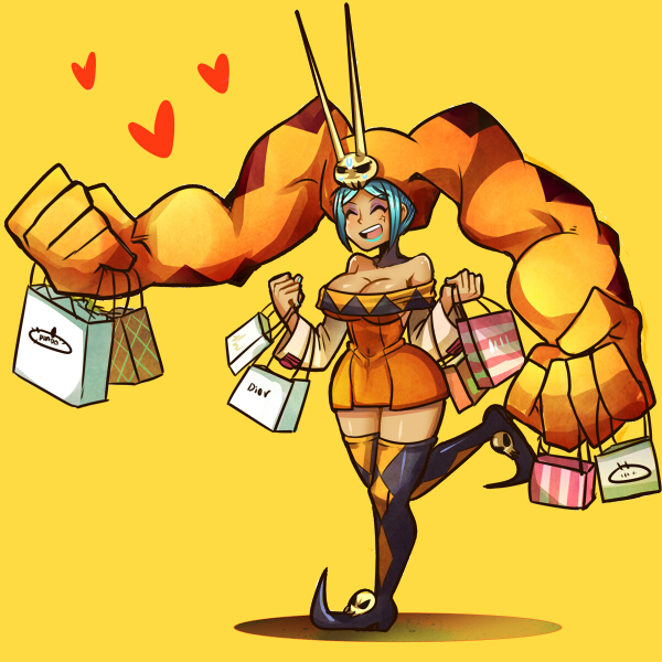 Skullgirls - ShoppingSpree by KataChan
