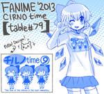 FANIME'2013 - Cirno Shirt