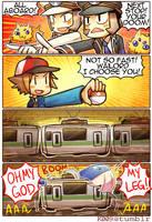 Subway Battle by kata-009