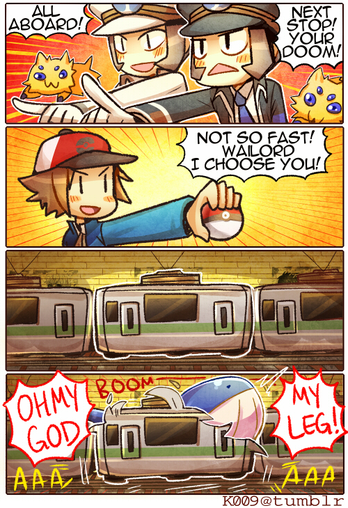 Subway Battle by KataChan