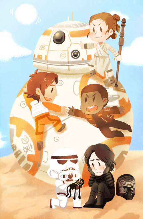 Star Wars: The Force Awakens by KataChan