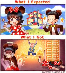 Disney Magical Dice - Expectations vs. Reality by kata-009
