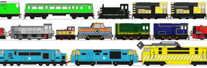 The Diesel Engines of Thomas and Friends