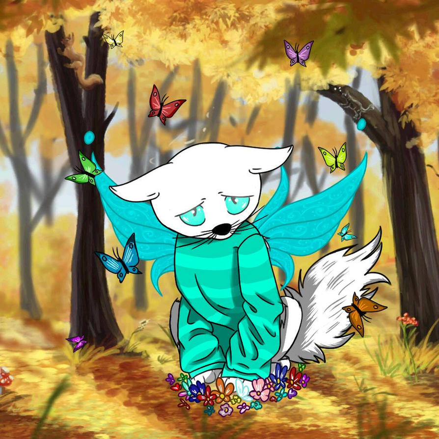UnderShy Dragon!Papyrus (Undertale AU) by SkyBolt25