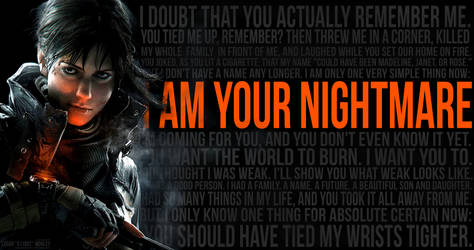 Female Division I AM YOUR NIGHTMARE 7REMASTERED by G110ST