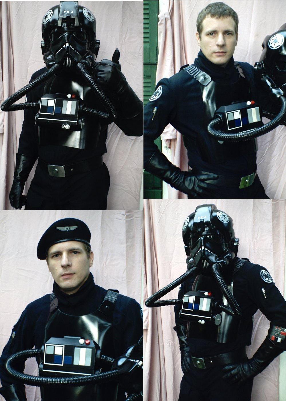 Star Wars Tie Pilot Costume by dthorne