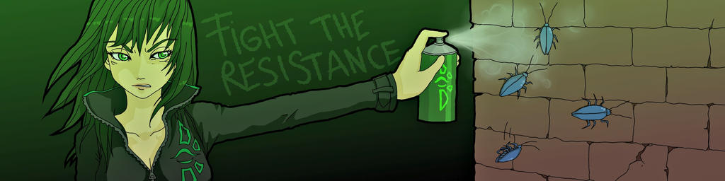 Fighttheresistance by niwatori