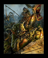 Damn Dirty Goblins! by JamesJKrause