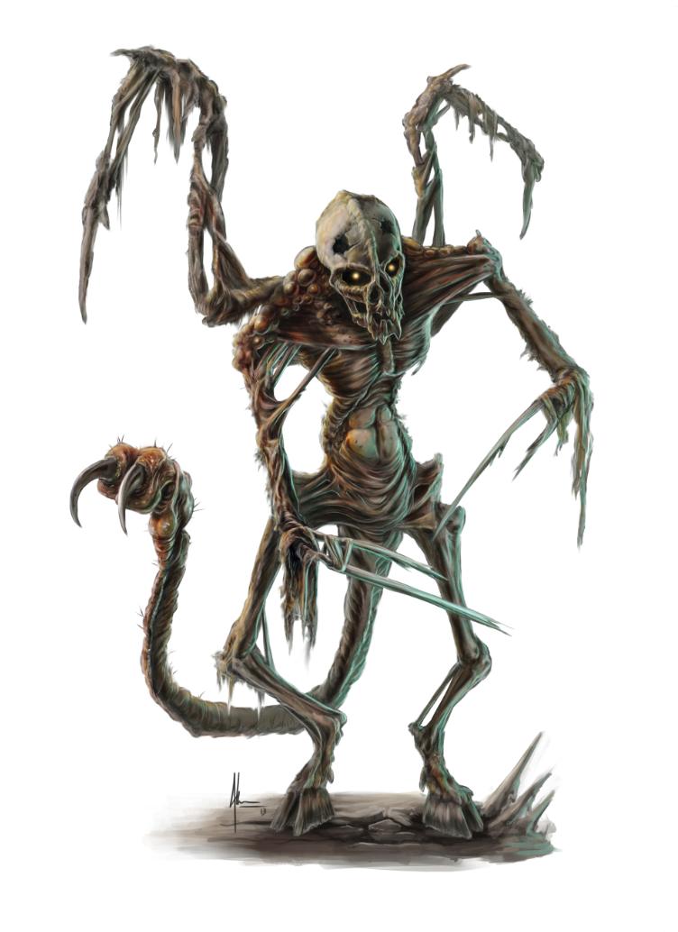 tormented bone devil by jamesjkrause on deviantart