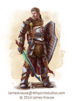 Connor Shannow, King of Talistryn by JamesJKrause