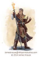 Felchains Uri'gondara, High Magister of Talistryn by JamesJKrause