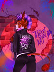 Look What The Cat Dragged In (Speedpaint Added) by qatsby