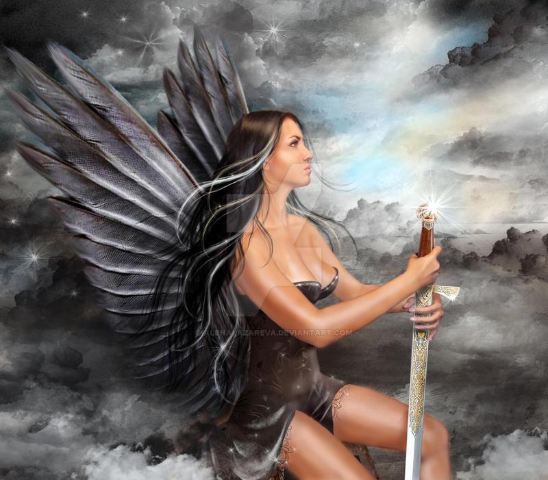 Black Angel by AlenaLazareva