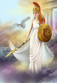 Athena . Illustration