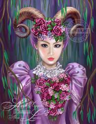 aries woman  by Alena Lazareva